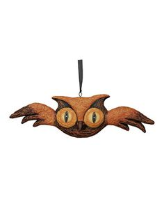 Take a look at this Owl Hanging Figurine by Primitives by Kathy on #zulily today - if link no longer connects, try searching internet sources using item and/or manufacturer