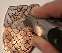 How to add details to stained glass using copper foil and wire overlays