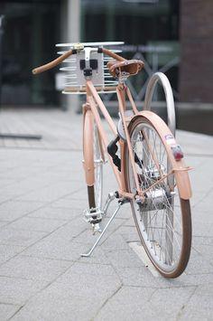 pink bike!
