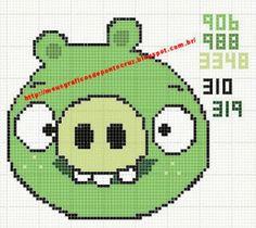 Pig do Angry Birds em Ponto Cruz