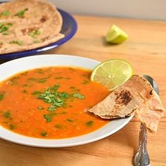 Tomato Red Lentil Bisque - #vegan