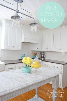 White Kitchen Reveal