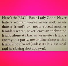blc, food for thought, remember this, life, girl code, ladi code, basic ladi, quot, friend
