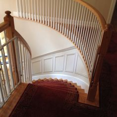 Curved stair trim