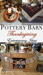Creating the Perfect Thanksgiving with Pottery Barn  - bebeandj.com
