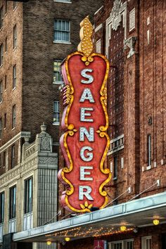 The Saenger Theater opened in Hattiesburg, #Mississippi on Thanksgiving Day 1929. Admission for children was six cents!
