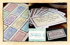 Scripture Cards @berooted Beautifully Rooted by Mixed Molly