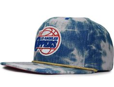 "MITCHELL & NESS x NBA ""LA Clippers Acid Wash"" Snapback Cap"
