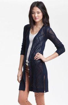 Free People Crochet Cardigan available at Nordstrom