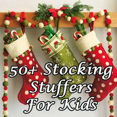 50+ Stocking Stuffers for Kids