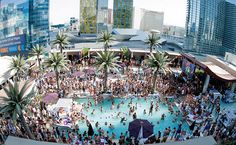 Labor Day Weekend Pool Parties at Las Vegas Celebrity HotSpots. So Many Choices: Marquee Day Club at The Cosmopolitan Hotel