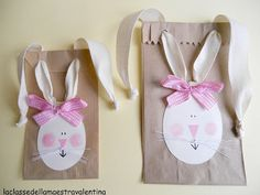 The class teacher Valentina: gift packaging ~ Easter