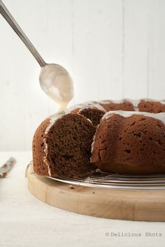 Banana chocolate cake - need something different than banana bread to use up old bananas -