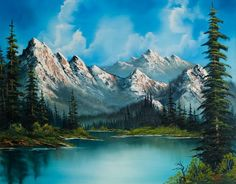 Bob Ross Paintings For Sale Home
