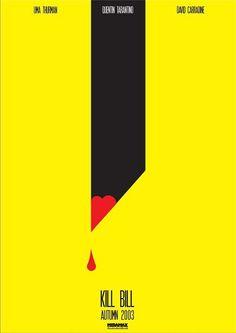 Kill Bill-Inspired Art movi poster