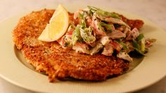 Chicken Schnitzel and Ranch-Style Creamy Veggies #whatsfordinner