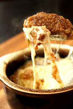 Bon Appetit Magazine's French Onion Soup .....wow!