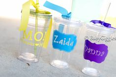 Personalized Tumblers for a girls weekend