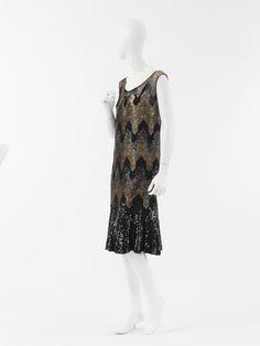 Coco Chanel evening dress ca. 1926-1927 via The Costume Institute of The Metropolitan Museum of Art