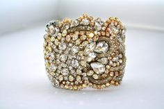 Vintage Jewelry Cuff