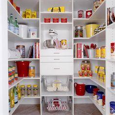 Pantry contemporary closet