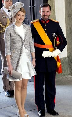 Hereditary Grand Duchess Stephanie of Luxembourg -- The Royal Hats Blog