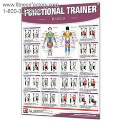 cable machine exercises chart