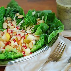Winter Salad with Poppyseed Salad Dressing