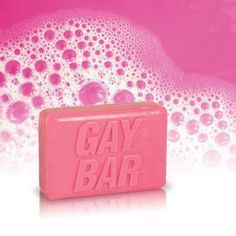 Gay Bar Novelty Pink Bar Soap, Fun & Unique Gifts