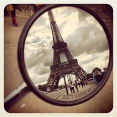 Paris on a Vespa.