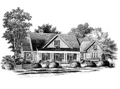 Country House Plan with 2404 Square Feet and 3 Bedrooms from Dream Home Source | House Plan Code DHSW55316 country houses, dream homes, floor plan, hous plan, southern live, eplan countri, hous dream, countri hous, house plans