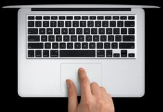 TOUCH this image: MacBook Pro Keyboard Shortcuts by LaurenBibby