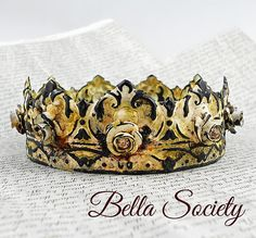 Crown for statue, home decor