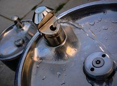 public drinking fountain