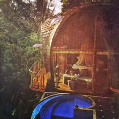 I'm writing this from the bed you see in the background, I can hear a waterfall from the valley below and all the sounds and smells of the rainforest are ever present. Bali is an experience for all the senses, it affects your very being in ways no other place does. Ubud comes from the word medicine in Balinese and that's what this place is to me. I can't capture it and maybe I shouldn't try. Like a river it flows through me and cleanses what I am.   Villa Pererepan, July 2014.