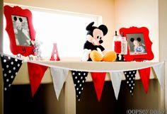 Mickey party idea