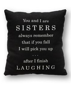 Another great find on #zulily! 'You and I' Pillow by Collins #zulilyfinds