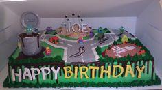 Trash Pack Map Birthday Cake