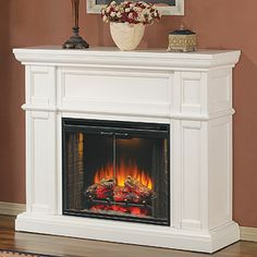 ClassicFlame Electric Fireplaces: Decorative Mantels for the Home.