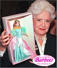 Barbie's inventor, Ruth Handler 1959.