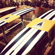 Classic Harbour stripes / HARBOUR Surfboards