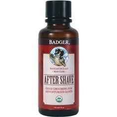 Badger After Shave Oil - Sharpologist