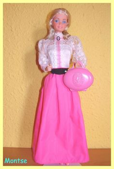1982 Barbie Angel Face. One of my very first barbies. LOVED her cameo!