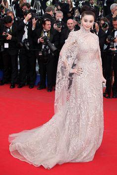 Fabulous Cannes WERQ: Fan Bingbing in Elie Saab Couture | Tom & Lorenzo