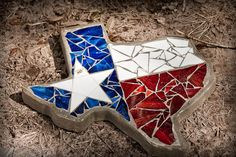State of Texas, bought at Chappell Hill Bluebonnet Festival
