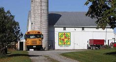 Corn and Beans Barn Quilt, Miami County Ohio