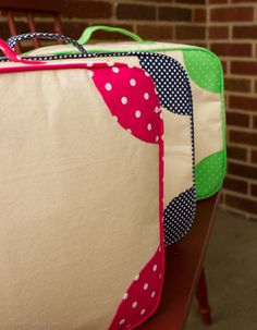 The sidekick mini suitcase pattern