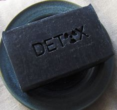 Zeolite Detox Soap with Activated Charcoal and by AquarianBath sample size
