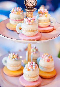 Macaron Teacups! http://www.macarahrah.com.au/custom.html