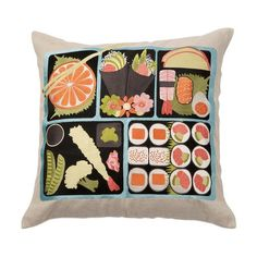 I pinned this Bento Pillow from the emma at home event at Joss and Main!